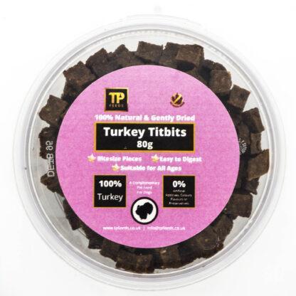 TP Feeds Turkey Titbits 80g