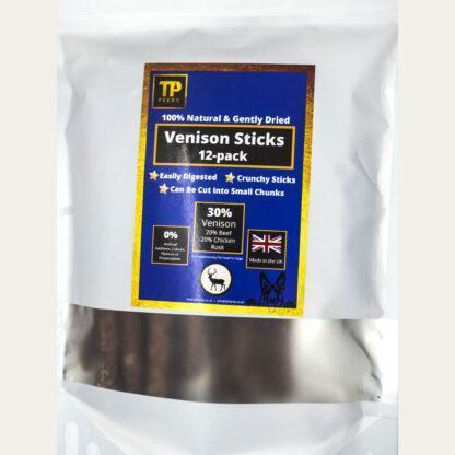TP Feeds Venison Sticks Pack of 12