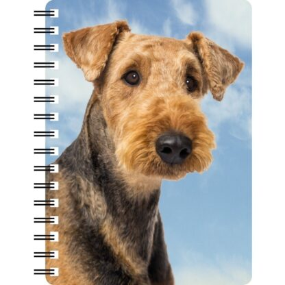 030717122769 3D Notebook Airedale Terrier
