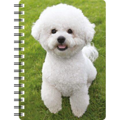 030717122424 3D Notebook Bichon Frise 3