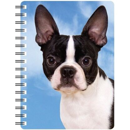 030717116102 3D Notebook Boston Terrier