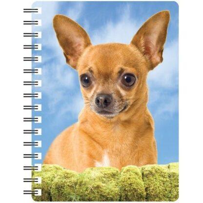 030717115600 3D Notebook Chihuahua Short Hair 1
