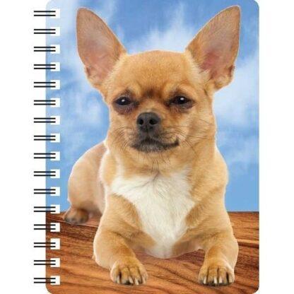 030717120307 3D Notebook Chihuahua Short Hair 3