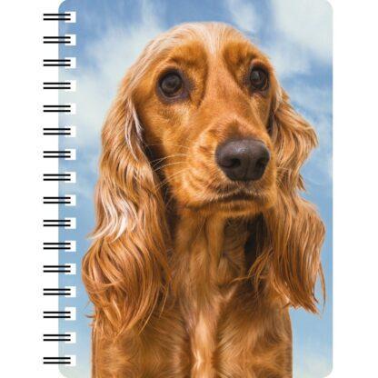 030717122288 3D Notebook Cocker Spaniel Gold 2