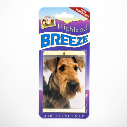 5030717100248 Airedale Terrier Air Freshener