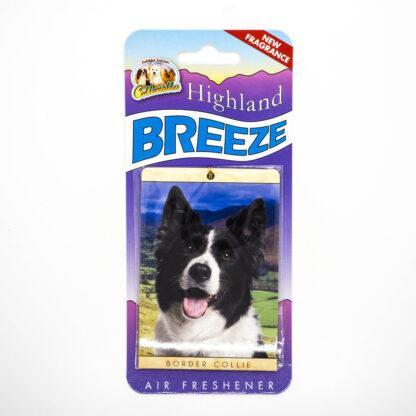 5030717100248 Border Collie 2 Air Freshener