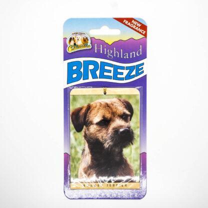 5030717100248 Border Terrier Air Freshener