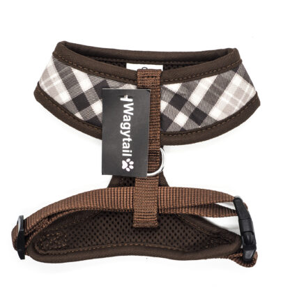 Brown Gingham Harness