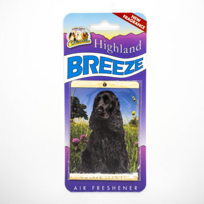 5030717100248 Cocker Spaniel Black Air Freshener