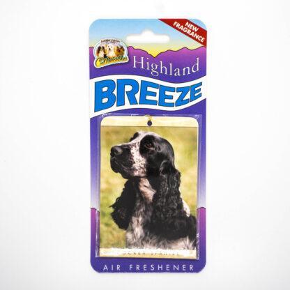5030717100248 Cocker Spaniel Blue Roan Air Freshener