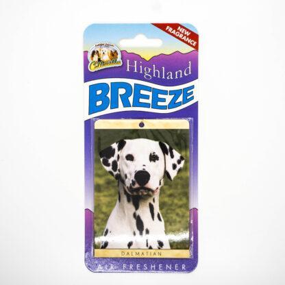 5030717100248 Dalmatian Air Freshener