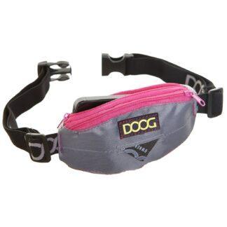 9342554000435 Doog Mini Belt Grey/Pink MINI09