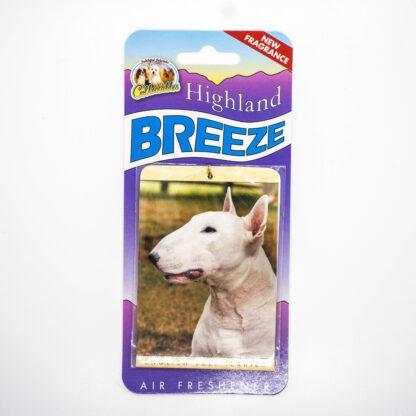 5030717100248 English Bull Terrier Air Freshener