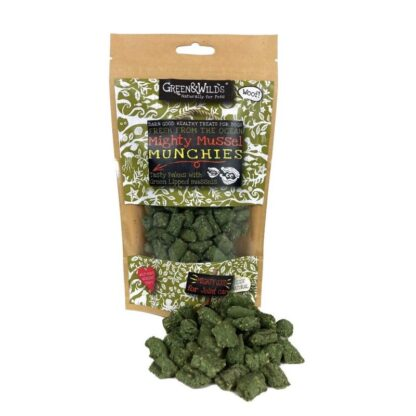 703625145841 Green & Wild's Mighty Mussel Munchies 130g