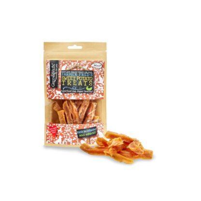 610696120700 Green & Wild's Sweet Potato Treats 100g