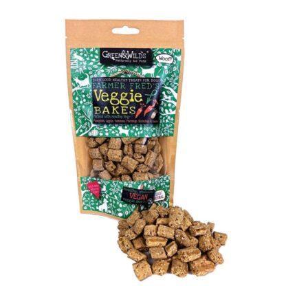 703625145810 Green & Wild's Veggie Bakes 130g
