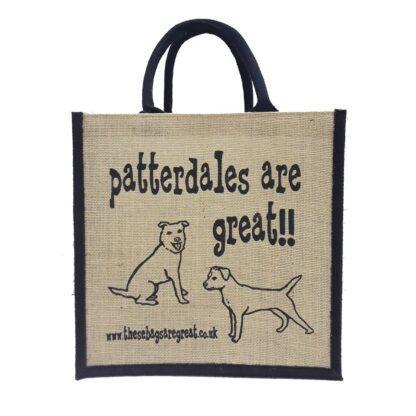 Patterdales are Great Jute Bag