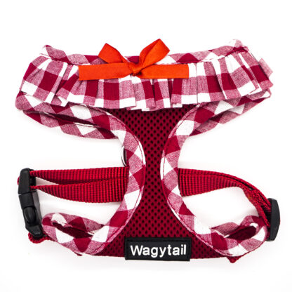 Red Gingham Harness FH02
