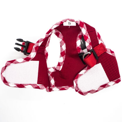 Red Gingham Harness