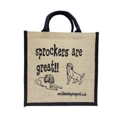Sprockers are Great Jute Bag