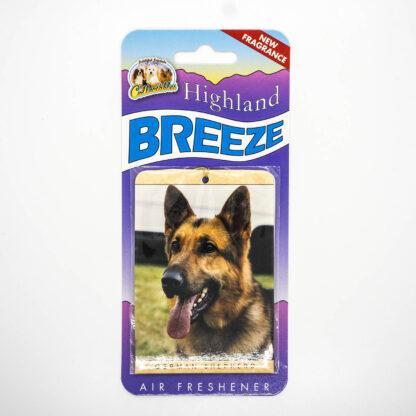 5030717100248 German Shepherd Air Freshener
