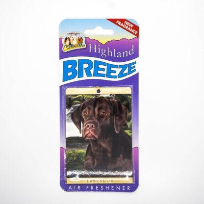 5030717100248 Labrador Chocolate Air Freshener