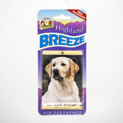 5030717100248 Labrador Yellow Air Freshener