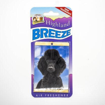 5030717100248 Poodle Black Air Freshener