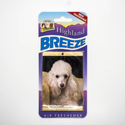 5030717100248 Poodle White Air Freshener