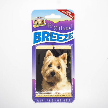 5030717100248 West Highland White Terrier Air Freshener
