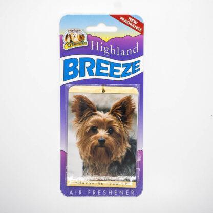 5030717100248 Yorkshire Terrier 1 Air Freshener