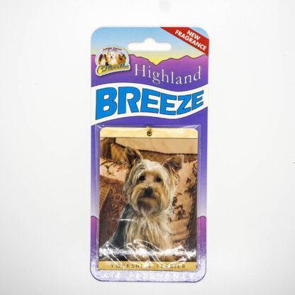 5030717100248 Yorkshire Terrier 2 Air Freshener