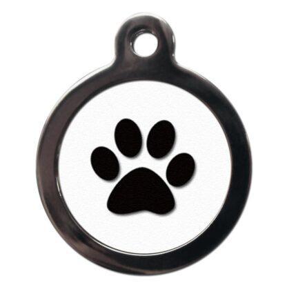 Paw Print CA17 Cartoon Dog ID Tag